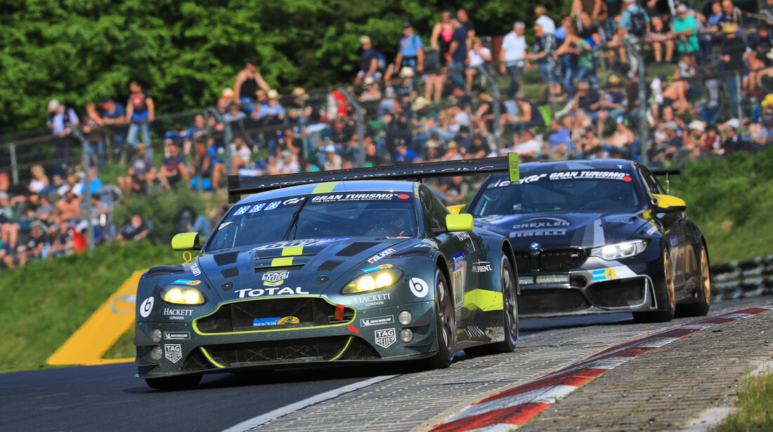Aston Martin Vantage GT3 - Startnummer #7 - 24h-Rennen Nürburgring 2018 - Nordschleife - Samstag 12.5.2018