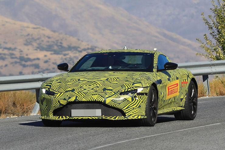 Erlkönig Aston Martin Vantage V8 (2018): Daten, Infos ...