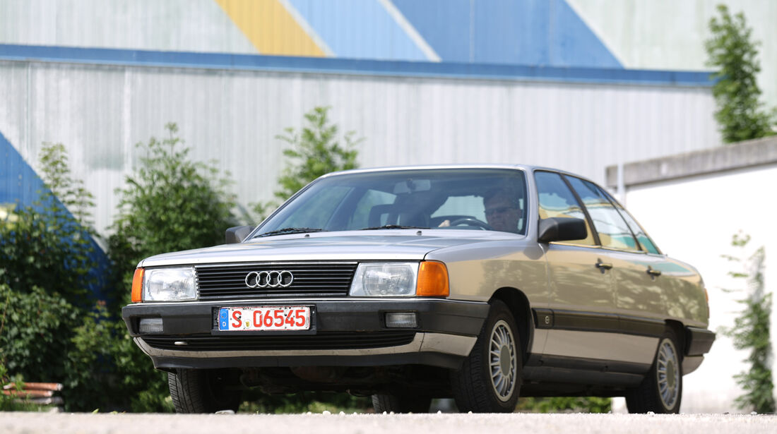 Audi 100 CS, Typ 44, Frontansicht