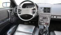 Audi 200, Cockpit, Lenkrad
