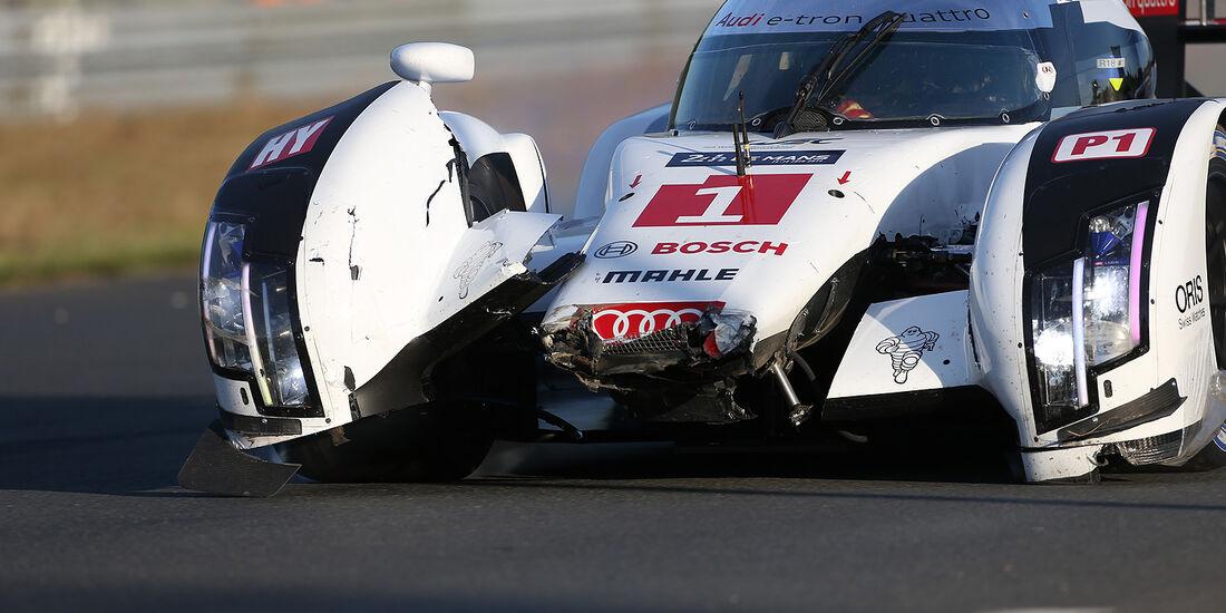 Audi - 24h-Rennen - Le Mans 2014 - Di Grassi/Gené/Kristensen