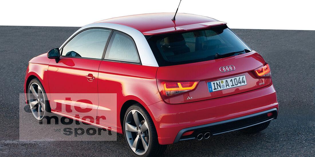 Audi A1 Facelift 2014