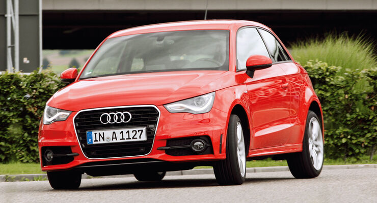 Audi A1, Frontansicht