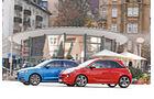 Audi A1 Sportback 1.4 TFSI, Opel Adam S, Seitenansicht