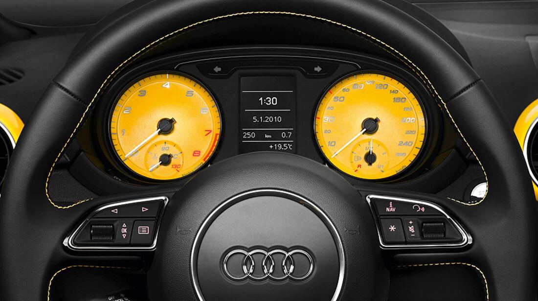 Audi A1 Wörtherseetour 2010, Innenraum