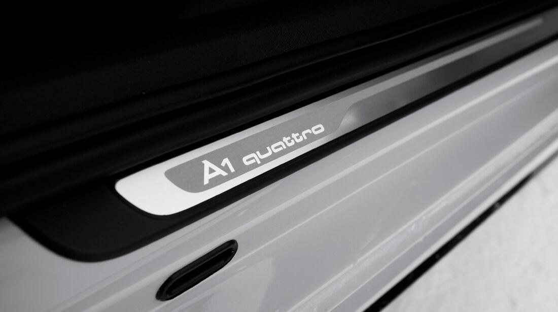 Audi A1 quattro, Fußleiste