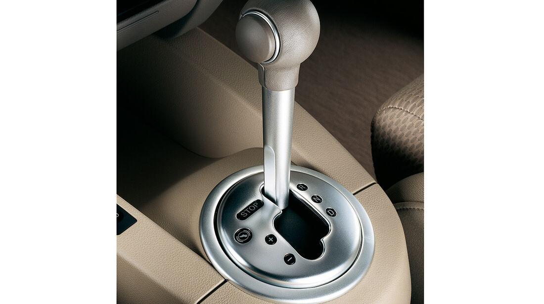 Audi A2, Auto der Woche, Cockpit, Automatik
