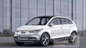 Audi A2 Retusche