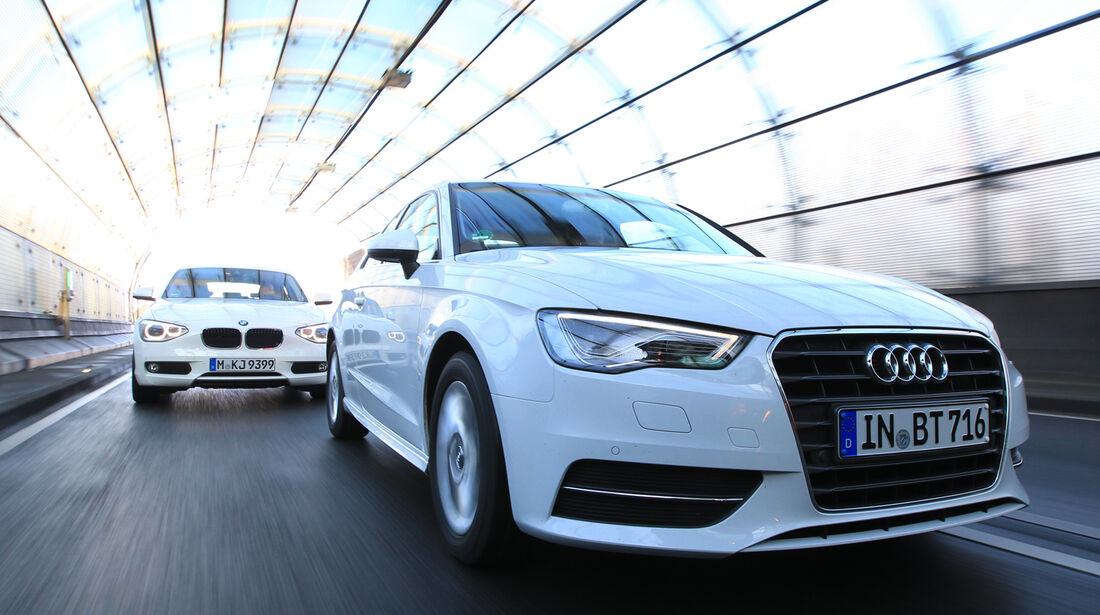 Audi A3 1.6 TDI Ultra, BMW 116d Efficient Dynamics Edition,