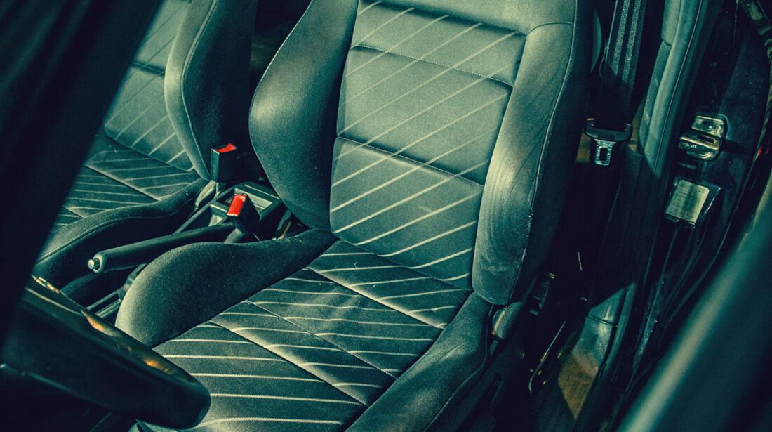 Audi A3 1.9 TDI, Fahrersitz