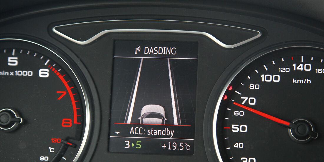 Audi A3, Assistenzsysteme