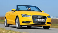 Audi A3 Cabrio 1.4 TFSI, Frontansicht