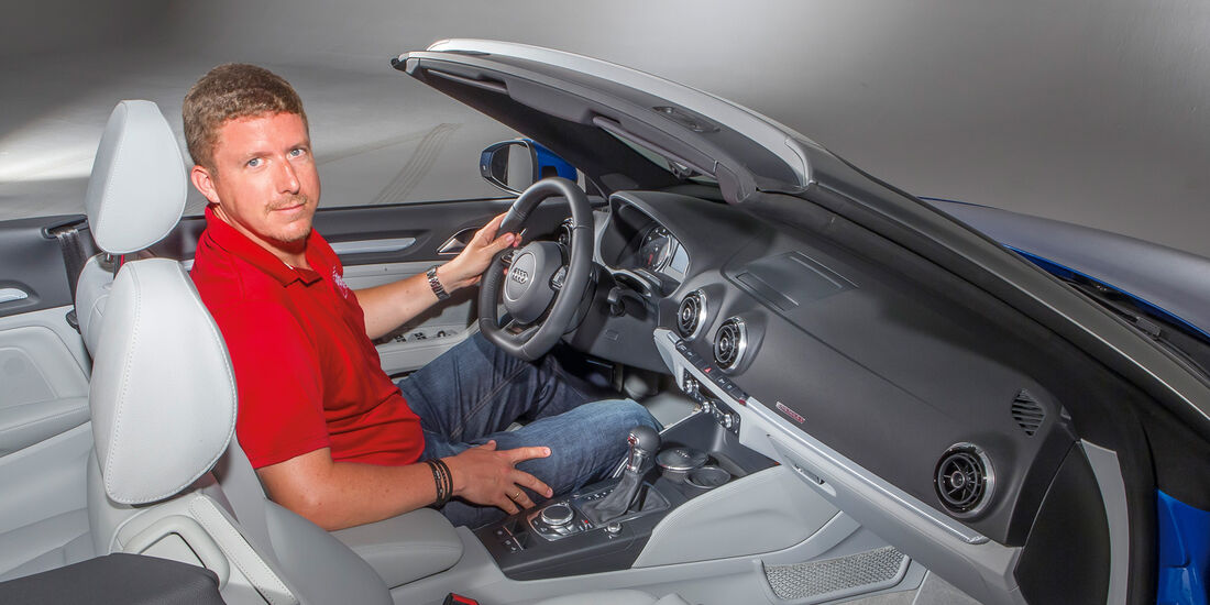 Audi A3 Cabrio, Cockpit, Jens Dralle