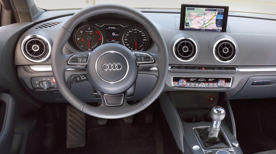 Audi A3, Cockpit, Lenkrad