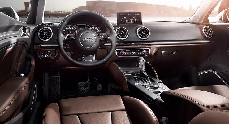 Audi A3, Innenraum, Cockpit, Lederaussattung