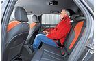 Audi A3 Sportback 2.0 TDI, Rücksitz, Beinfreiheit