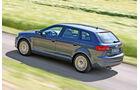 Audi A3 Sportback 2.0 TdI Quattro, Heckansicht