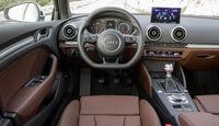 Audi A3 Sportback, Cockpit, Lenkrad
