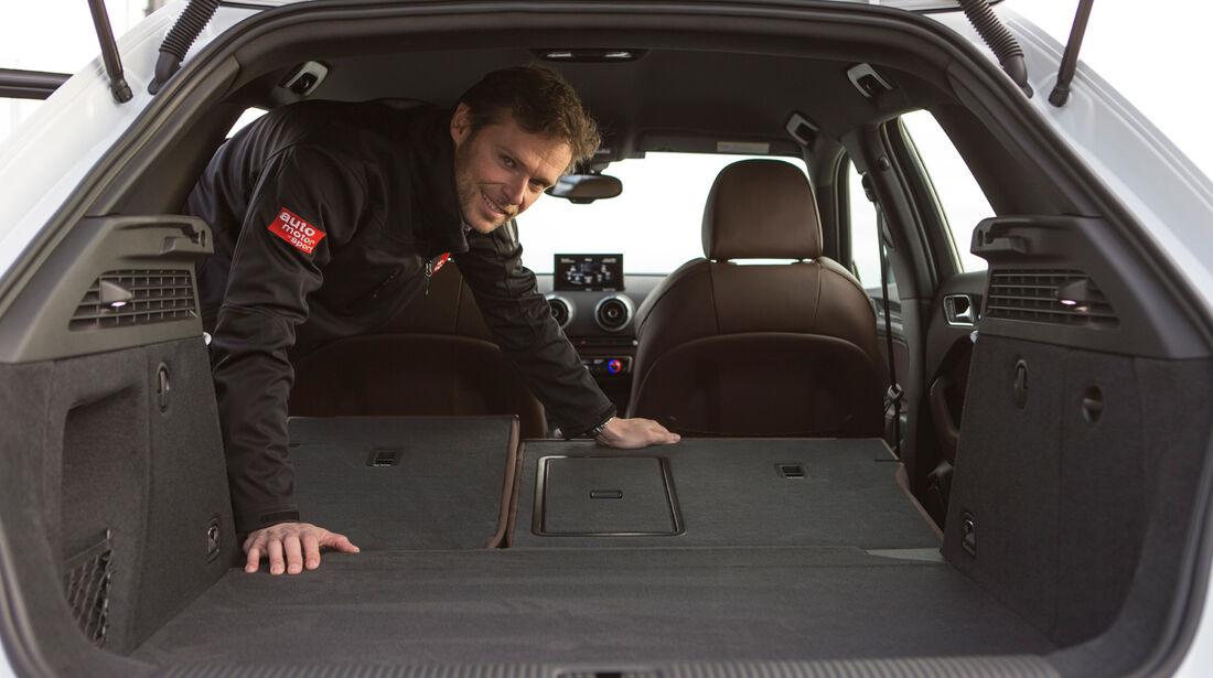 Audi A3 Sportback, Kofferraum, Ladefläche