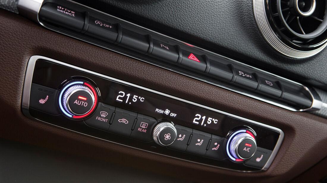 Audi A3 Sportback, Temperaturregler