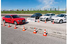 Audi A4 1.8 TFSI, BMW 320i, Mercedes C 200, Volvo S60 T4, Test