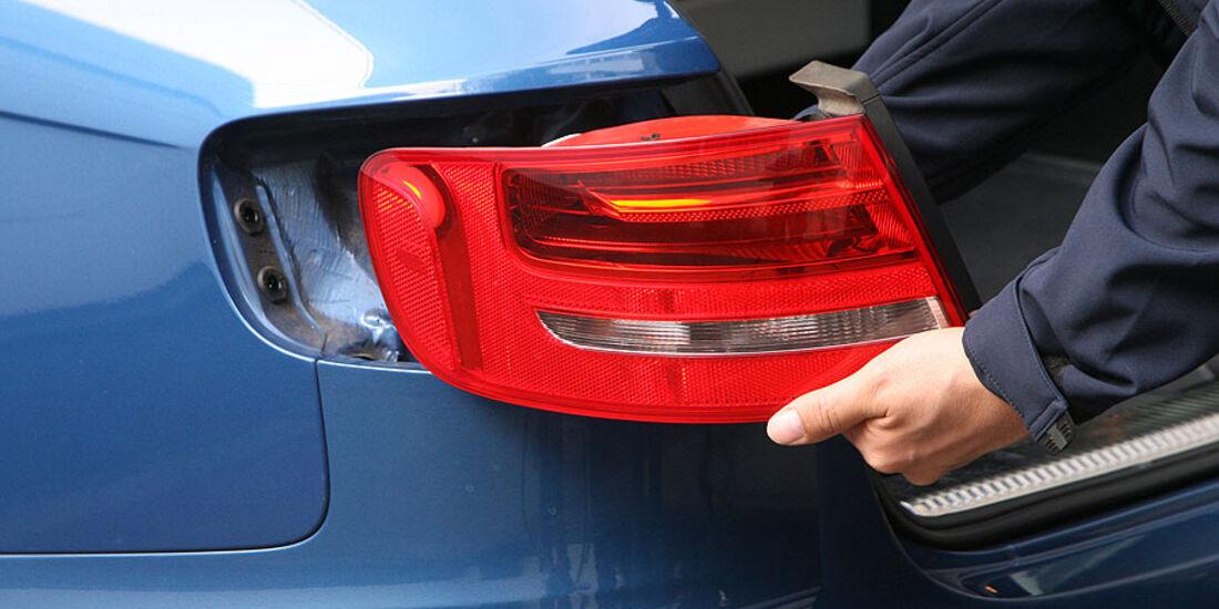 Audi A4 Avant 1.8 TFSI, Heckleuchten