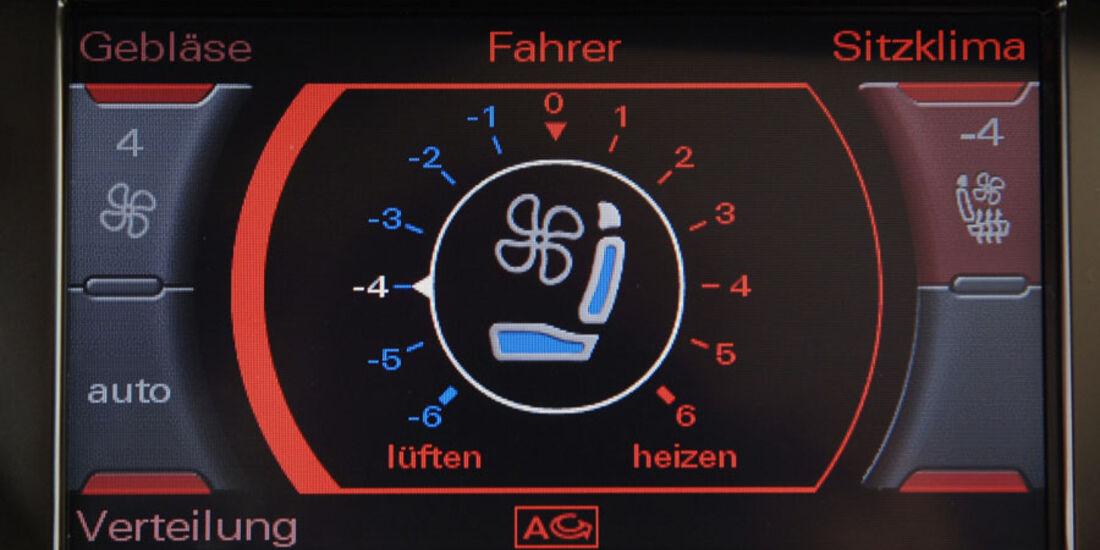 Audi A4 Kaufberatung, Sitzheizung