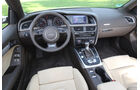Audi A5 2.0 TFSI Cabrio, Cockpit, Lenkrad