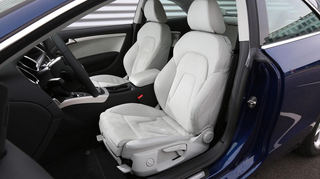 Audi A5 Coupé 2.0 TDI Quattro, Fahrersitz