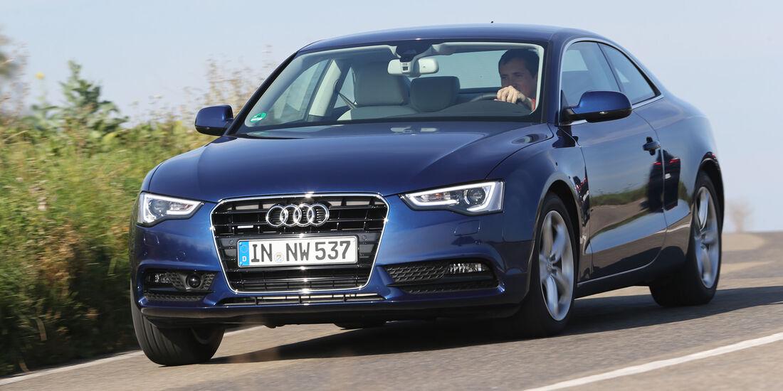 Audi A5 Coupé 2.0 TDI Quattro, Frontansicht