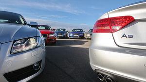 Audi A5 Kaufberatung, aumospo06/2011