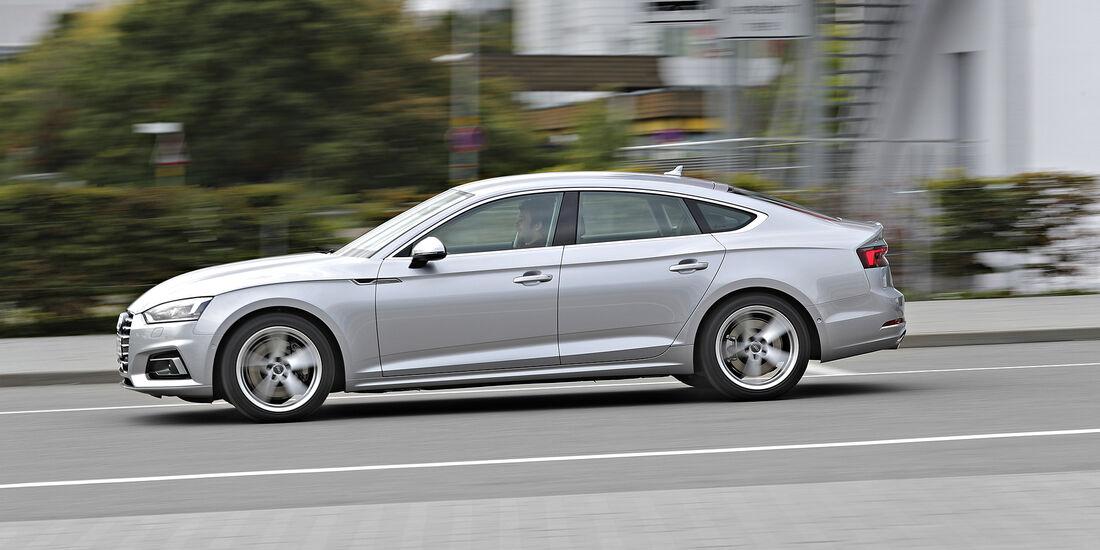 Audi A5 Sportback, Exterieur, Seite