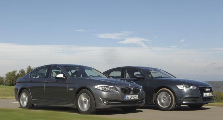 Audi A6 2.0 TDI, BMW 520d EDE