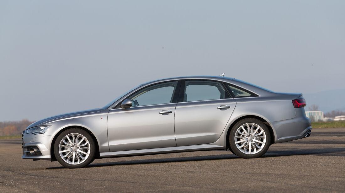 Audi A6 2.0 TDI, Seitenansicht