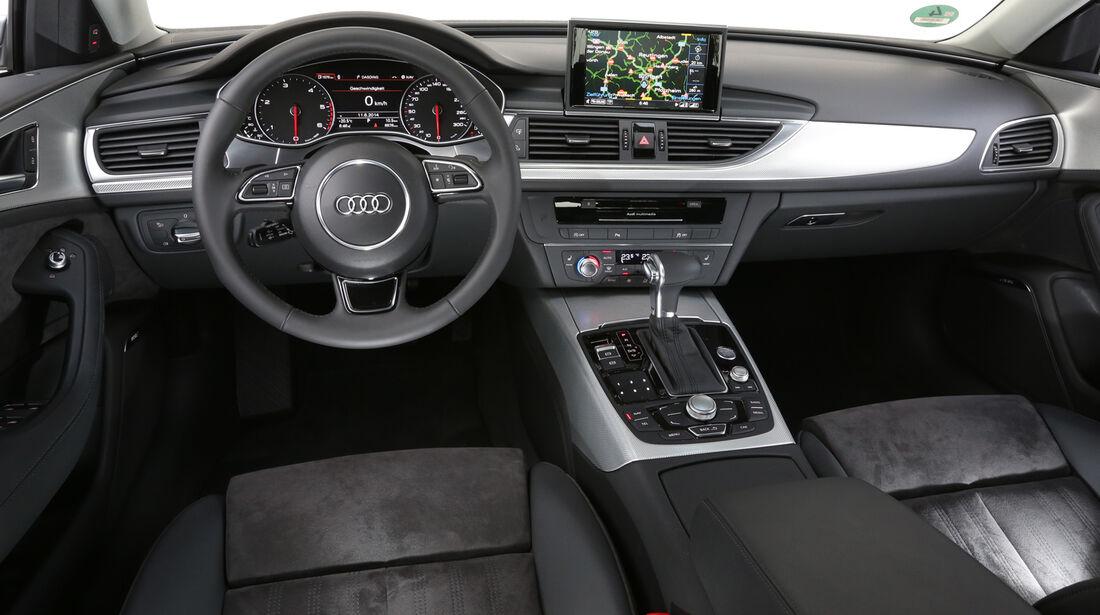 Audi A6 2.0 TDI Ultra, Cockpit