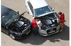 Audi A6 2.0 TDI Ultra, Mercedes E 220 Bluetec, Motoren