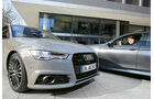 Audi A6 3.0 TDI Competition, BMW 535d, Impression