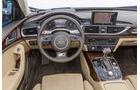 Audi A6 3.0 TFSI, Cockpit, Lenkrad