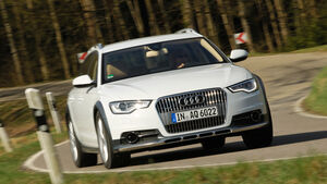 Audi A6 Allroad, Frontansicht