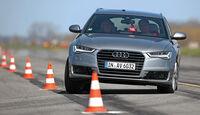 Audi A6 Avant, Fahrwerksvergleich