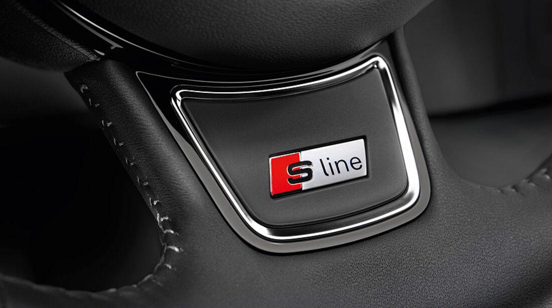 Audi A6 Avant S-Line Lenkrad
