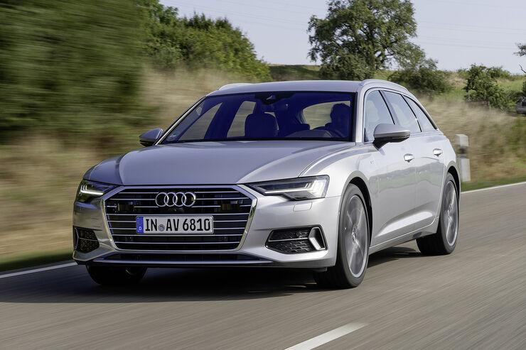 Audi A6 Avant C8 2018 Fahrbericht Motor Bilder Preis Auto