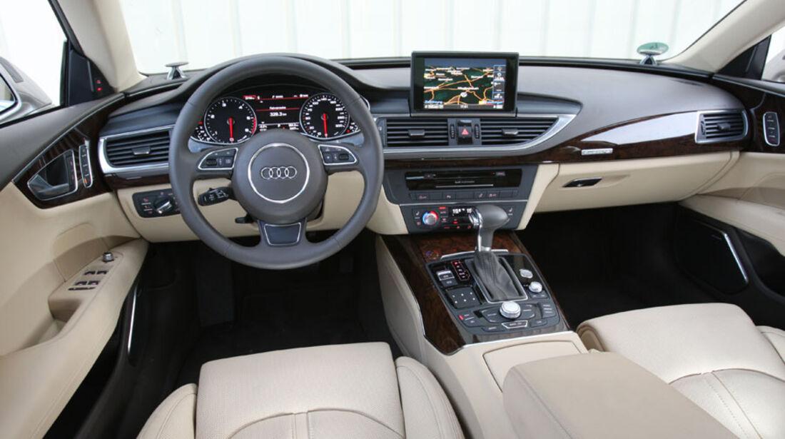 Audi A7, Innenraum, Cockpit