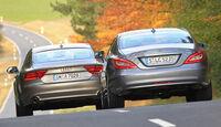 Audi A7, Mercedes CLS