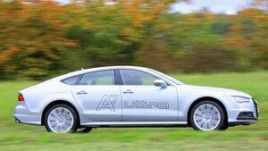 Audi A7 Sportback 3.0 TDI Ultra, Seitenansicht