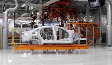 Audi A8 2017 Spaceframe Alu Leichtbau Karosserie