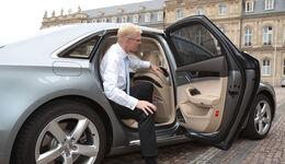 Audi A8, Fondtür, Einstieg, Ausstieg