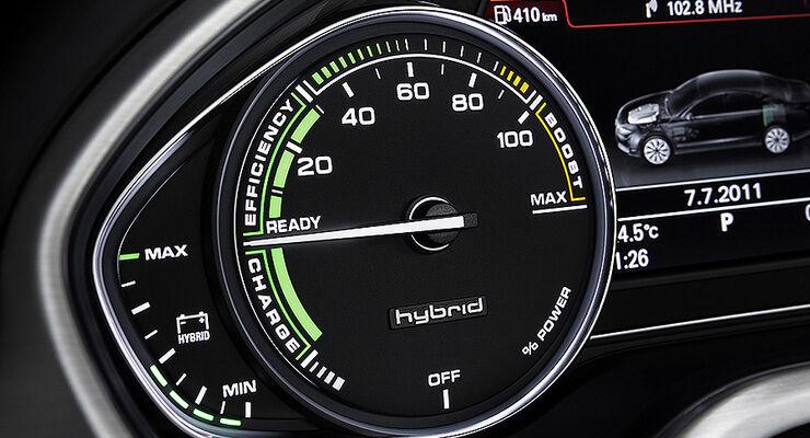 Audi A8 Hybrid, Cockpit
