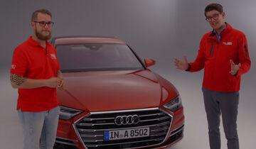 Audi A8 Sitzprobe