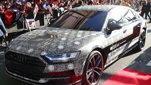 Audi A8 Teaser Spiderman